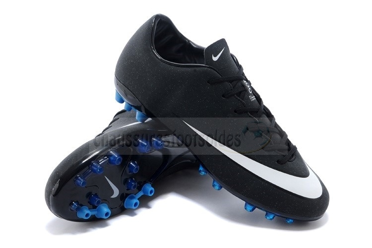Nike Crampon De Foot Mercurial Superfly AG Noir