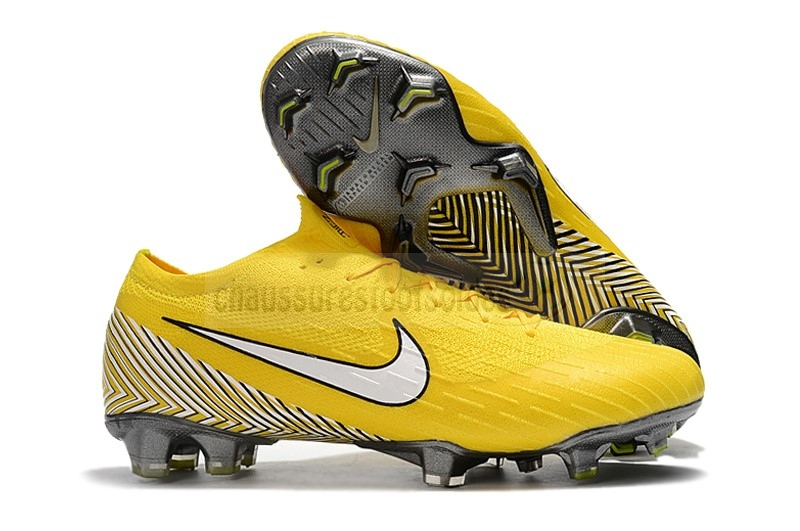 Nike Crampon De Foot Mercurial Superfly VI 360 Elite FG Jaune