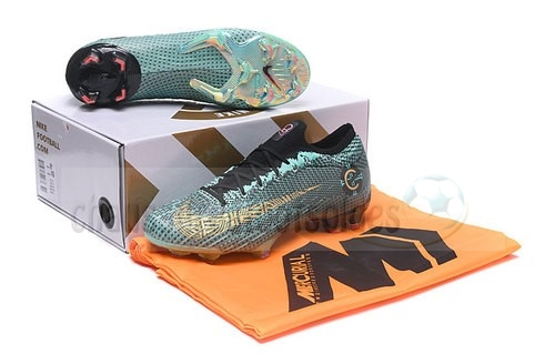Nike Crampon De Foot Mercurial Superfly VI Elite CR7 FG Noir explosion