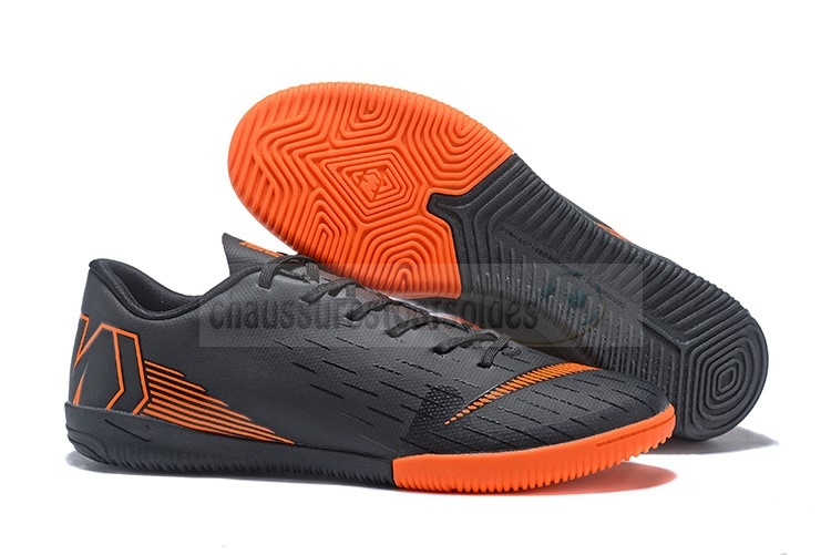 Nike Crampon De Foot Mercurial VaporX 12 Club IC Noir Orange