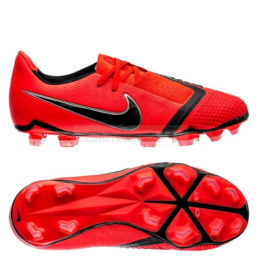 Nike Crampon De Foot Phantom Venom Elite Enfants FG Game Over Rouge