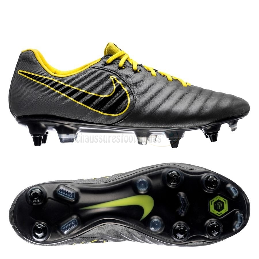 Nike Crampon De Foot Tiempo Legend VII Elite SG PRO Game Over Noir Jaune