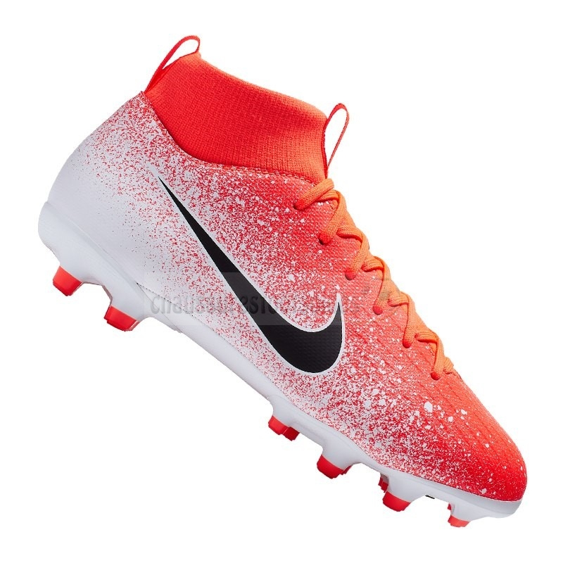Nike Crampon De Foot Mercurial Superfly VI Academy Enfants MG Orange