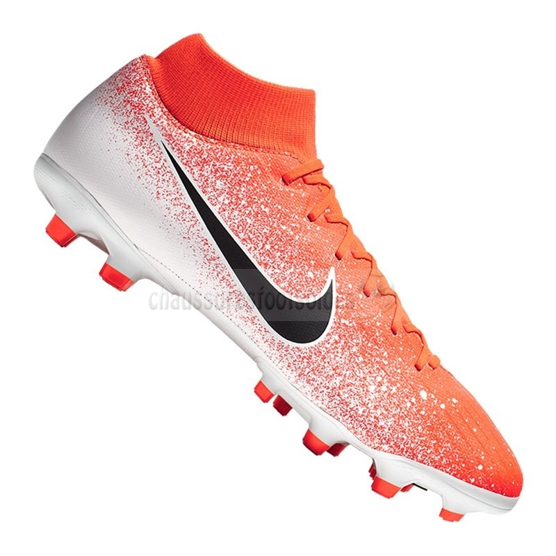 Nike Crampon De Foot Mercurial Superfly VI Academy MG Orange