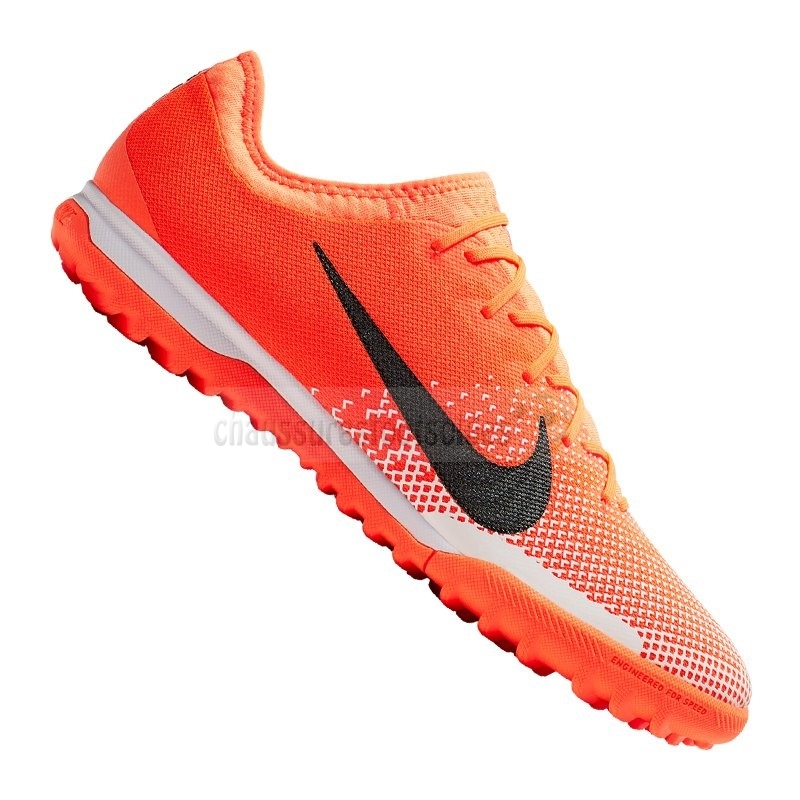 Nike Crampon De Foot Mercurial VaporX XII Pro TF Orange Noir