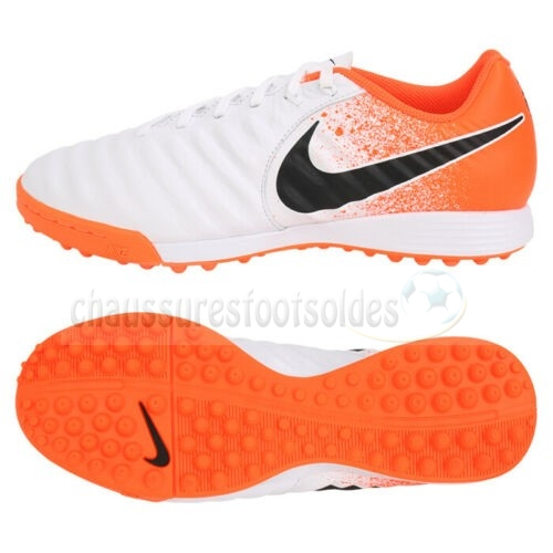 Nike Crampon De Foot Tiempo Legend VII Academy Enfants TF Euphoria Orange