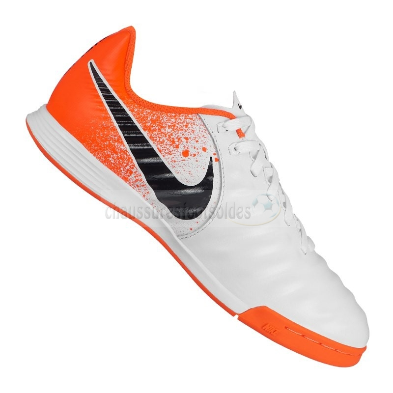 Nike Crampon De Foot Tiempo LegendX VII Academy Enfants IC Orange