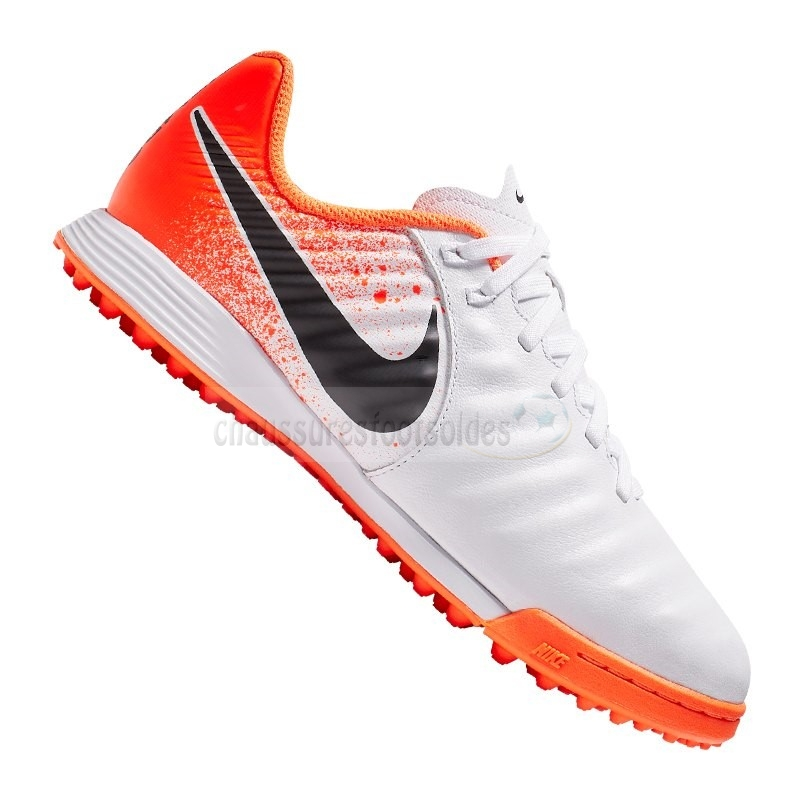 Nike Crampon De Foot Tiempo LegendX VII Academy Enfants TF Orange