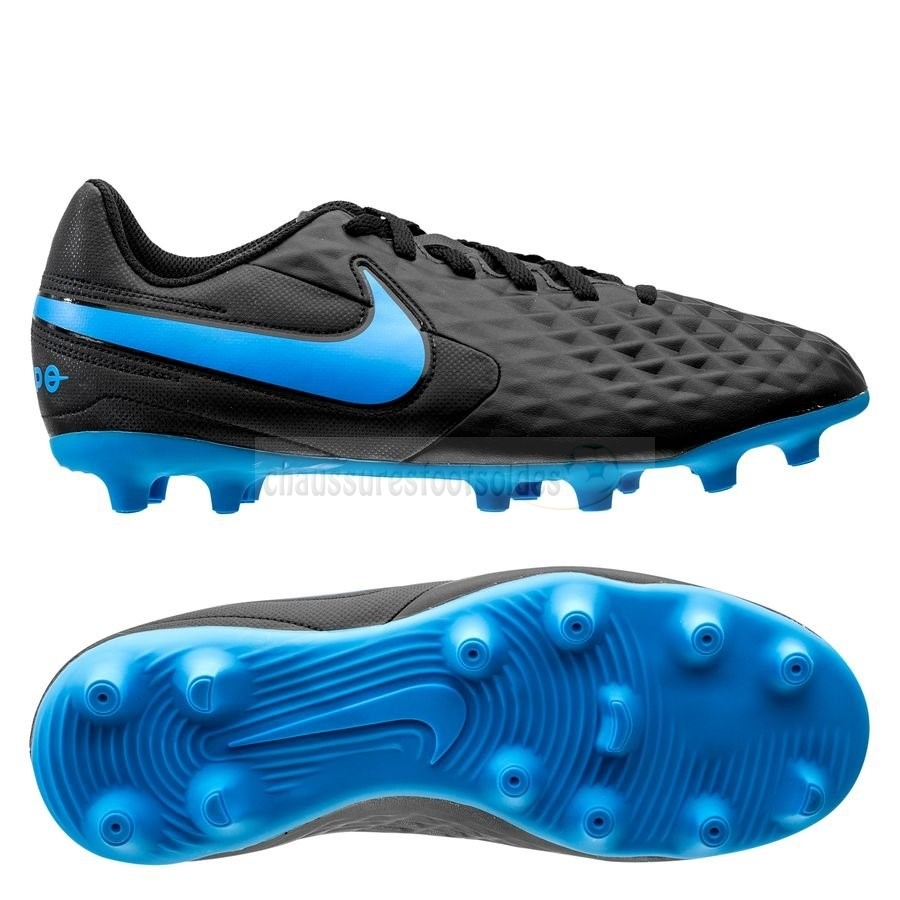 Nike Crampon De Foot Tiempo Legend 8 Club MG Noir