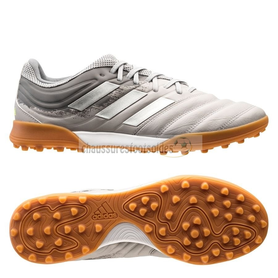 Adidas Crampon De Foot Copa 20.3 TF Encryption Gris