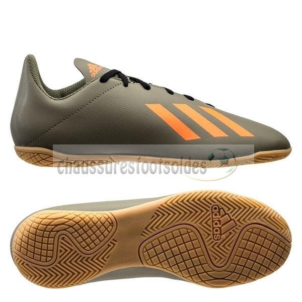 Adidas Crampon De Foot X 19.4 IN Encryption Brun