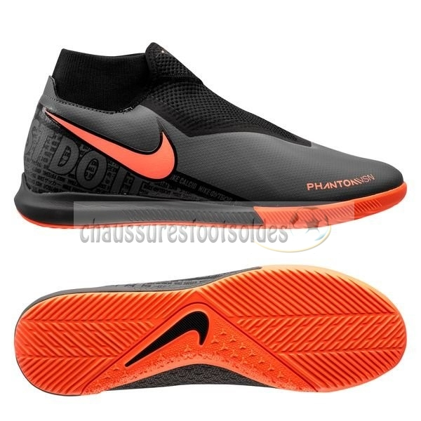 Nike Crampon De Foot Phantom Vision Academy DF IC Fire Noir