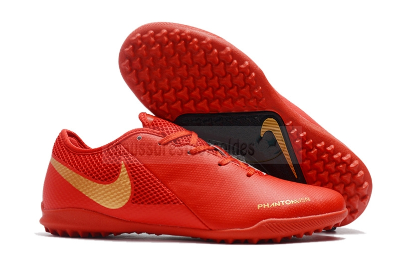Nike Crampon De Foot Phantom VSN Academy TF Rouge
