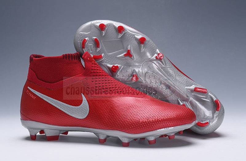 Nike Crampon De Foot Phantom VSN Elite DF FG Rouge