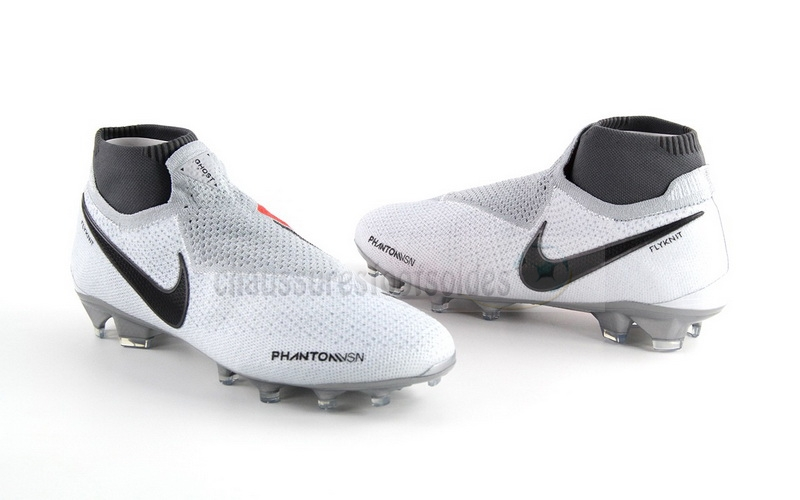 Nike Crampon De Foot Phantom VSN Elite DF FG Blanc