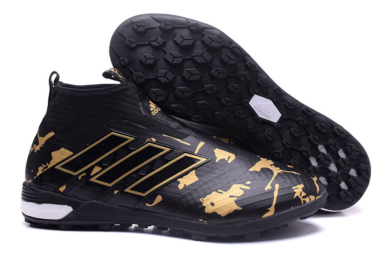 Adidas Crampon De Foot Ace Purecontrol TF Noir Or