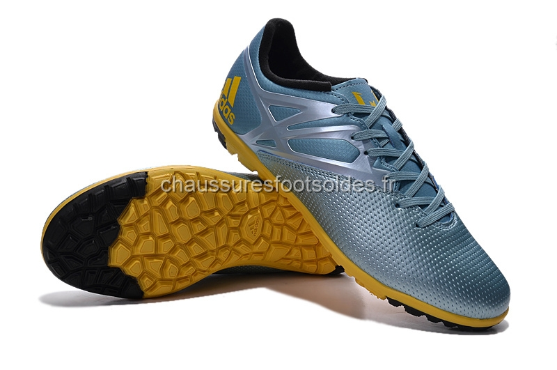 wholesale dealer 65b9c 9435d ireland adidas crampon de foot messi 15.3 tf argent noir brun ec14e d586e