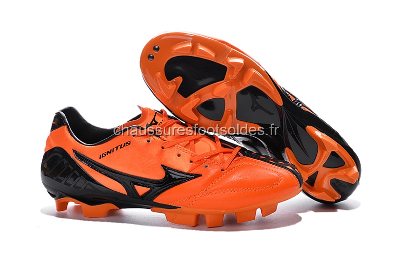 Mizuno Crampon De Foot MD Noir Orange