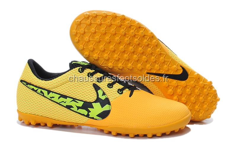 Nike Crampon De Foot Elastico Pro III TF Orange Noir