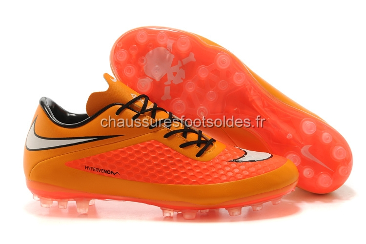 Nike Crampon De Foot HyperVenom AG Orange Rouge