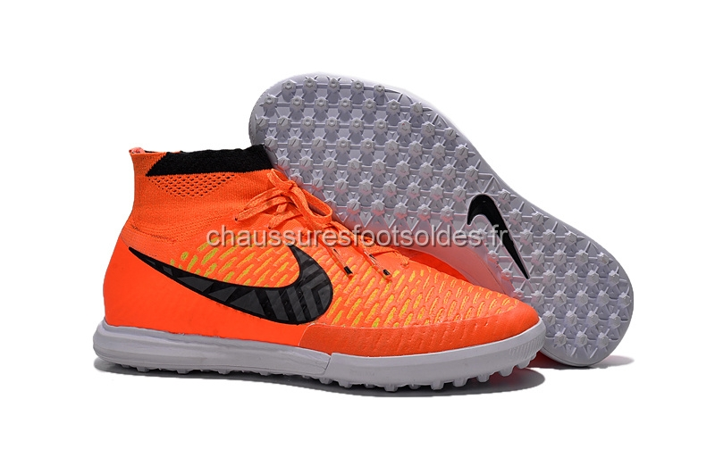 Nike Crampon De Foot MagistaX Proximo TF Orange Noir