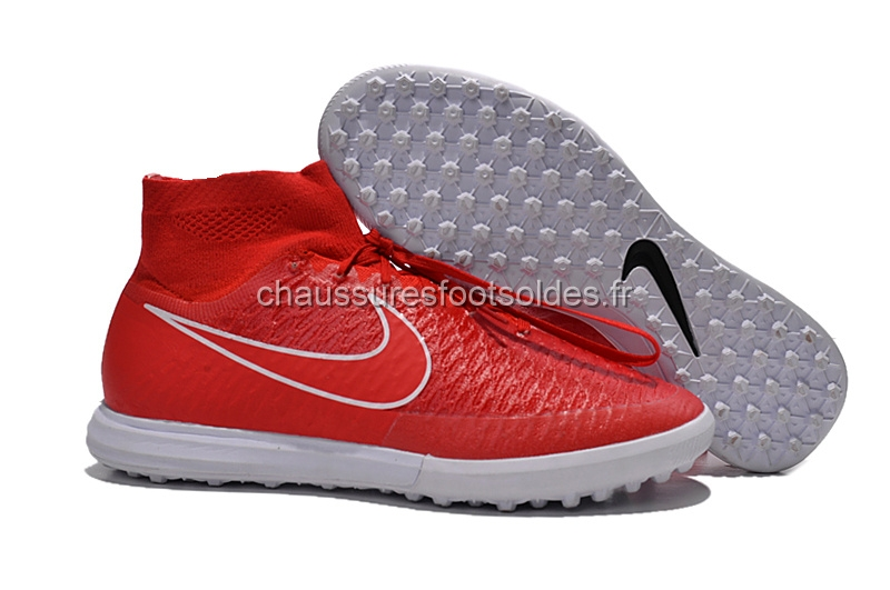 Nike Crampon De Foot MagistaX Proximo TF Rouge