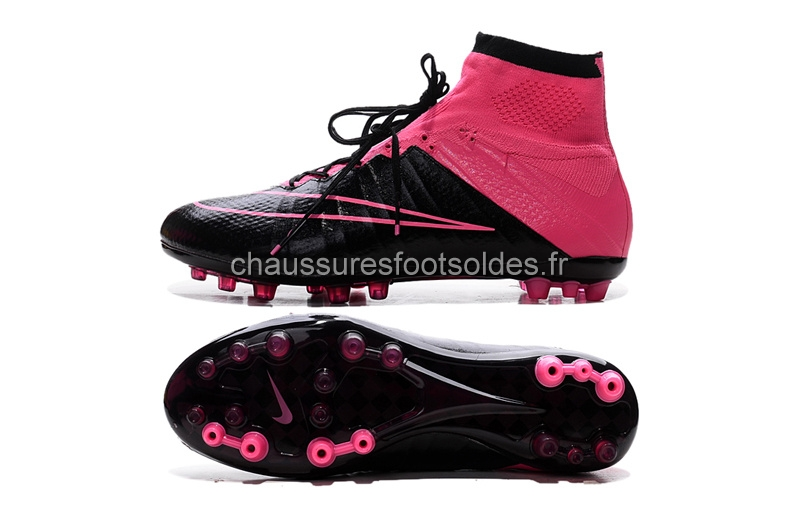 Nike Crampon De Foot Mercurial Superfly AG Rouge Noir