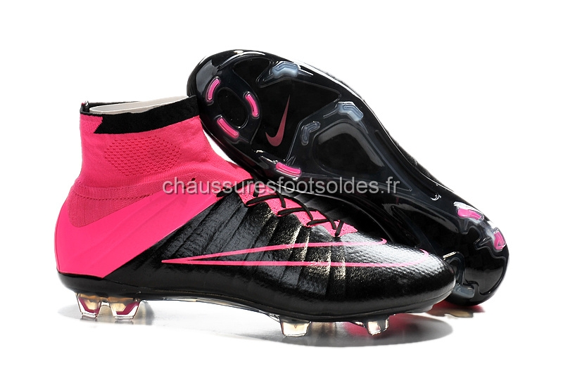 Nike Crampon De Foot Mercurial Superfly FG Rouge Noir