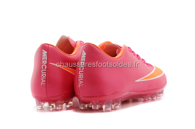 Nike Crampon De Foot Mercurial X Vapor AG Rose Orange
