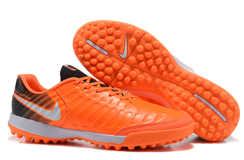 Nike Crampon De Foot Tiempo Mystic VII TF Orange Noir