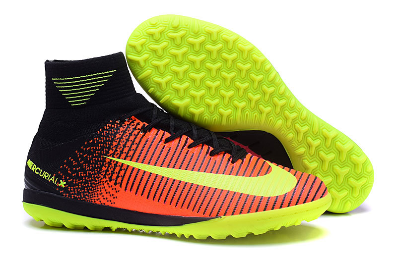 Nike Crampon De Foot MagistaX Proximo II TF Orange Rose Jaune